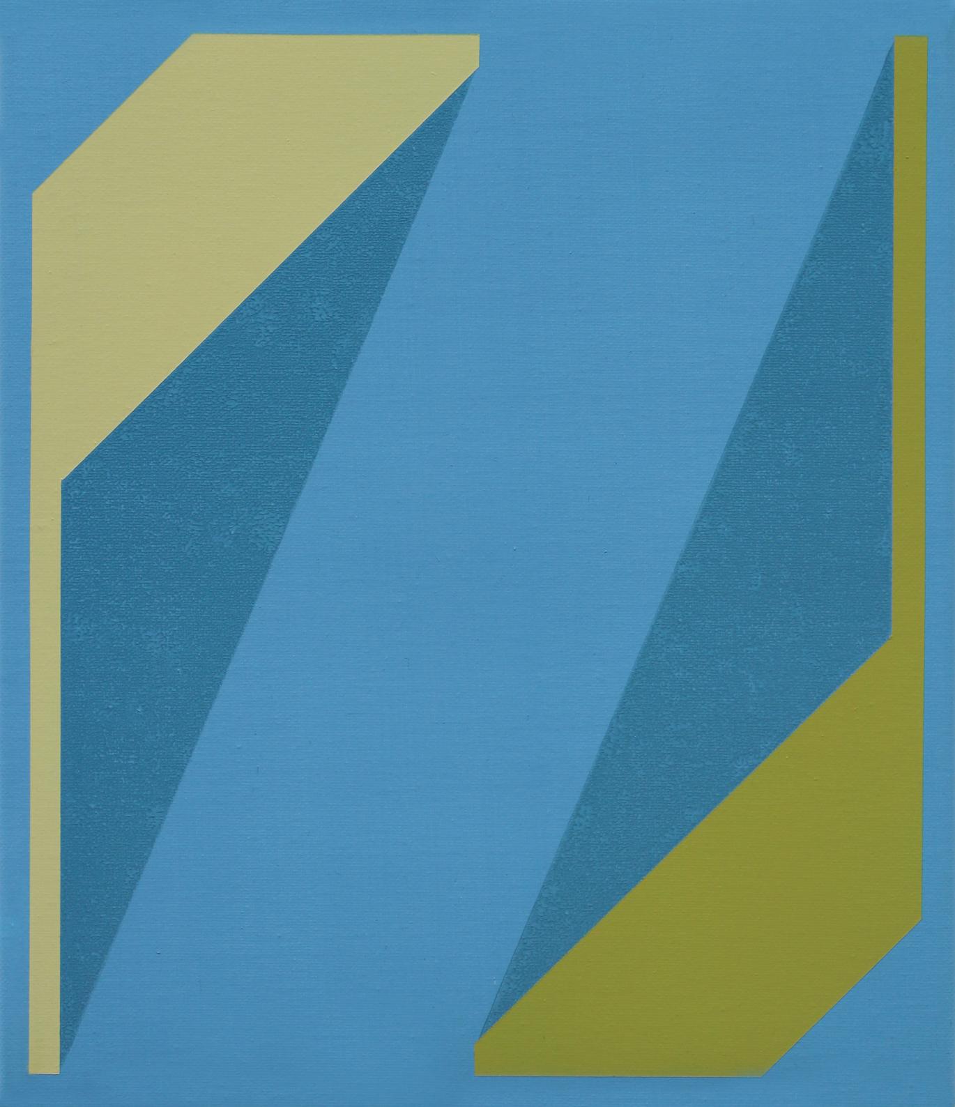 Untitled (Blue Green Mustard)