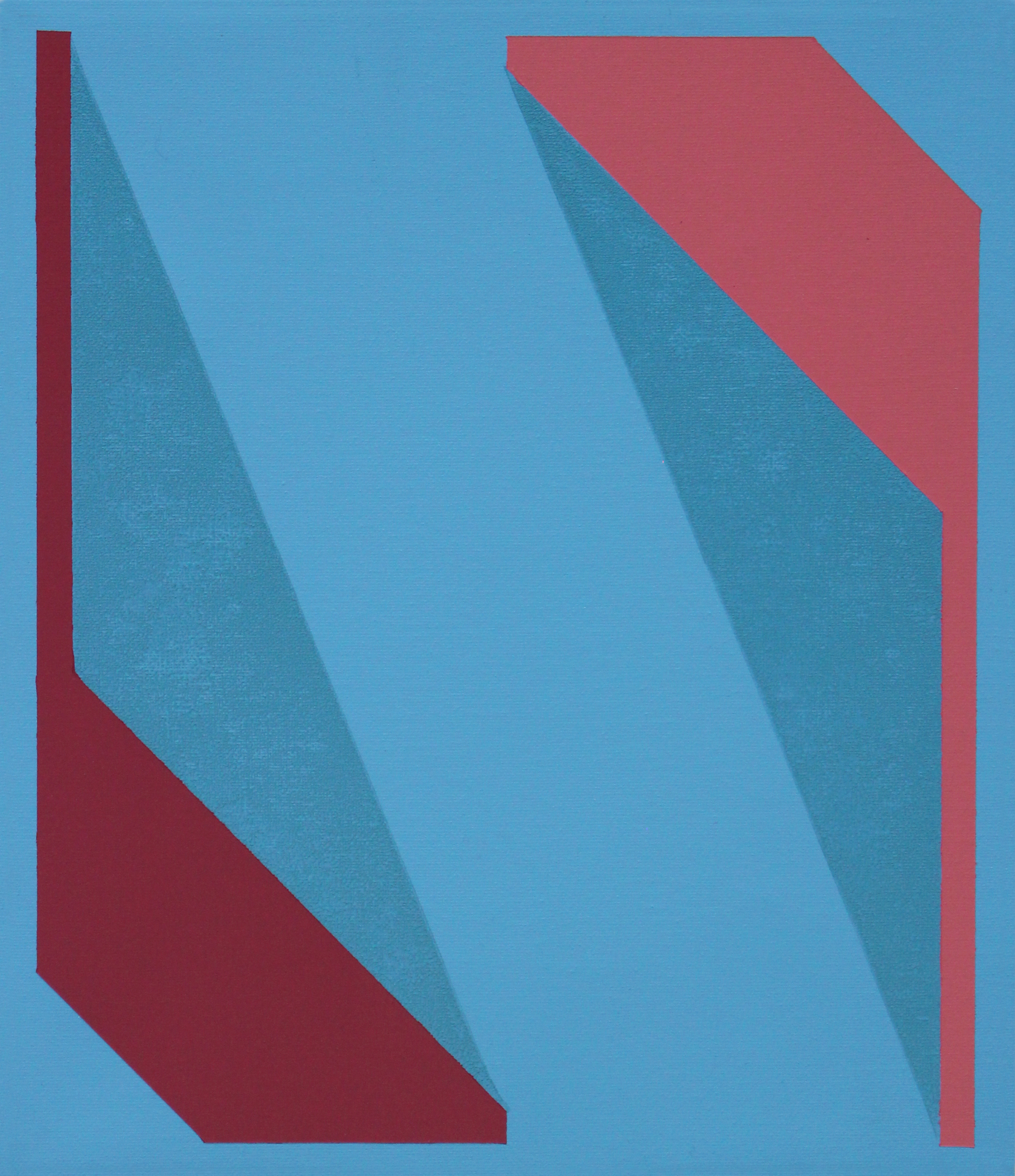 Untitled (Blue Red Pink)