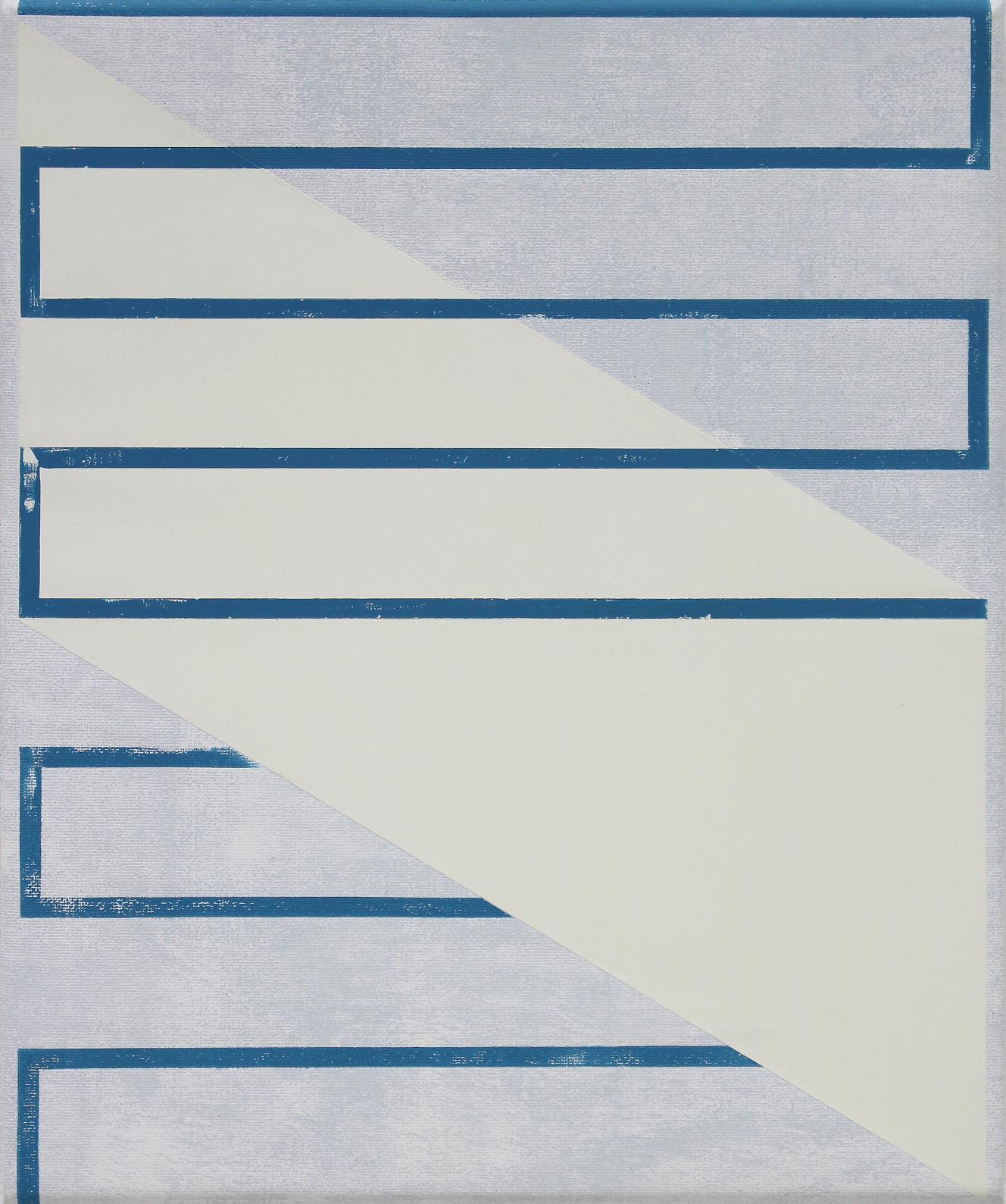 Untitled (Grey Blue White)