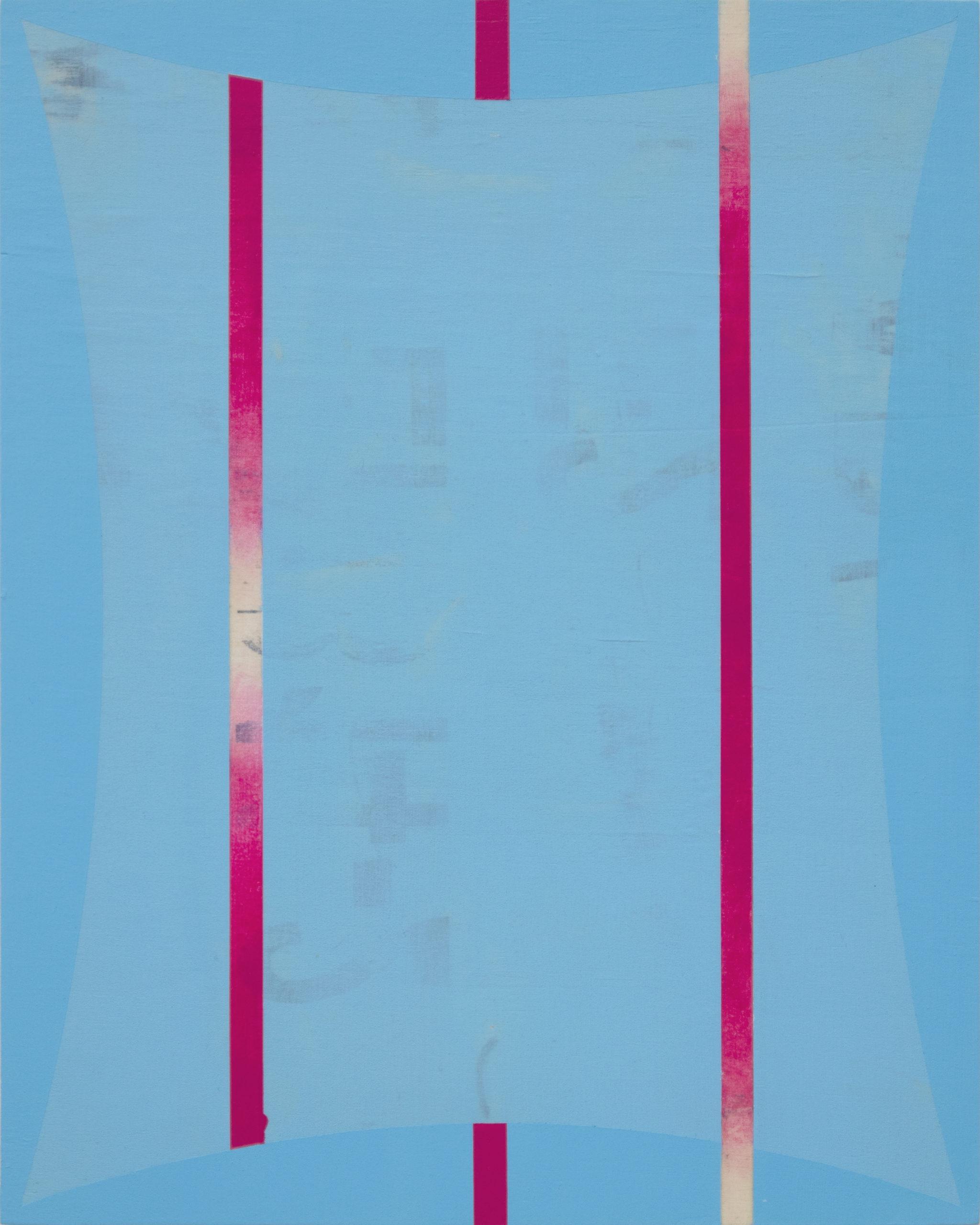 Untitled (Blue Magenta)