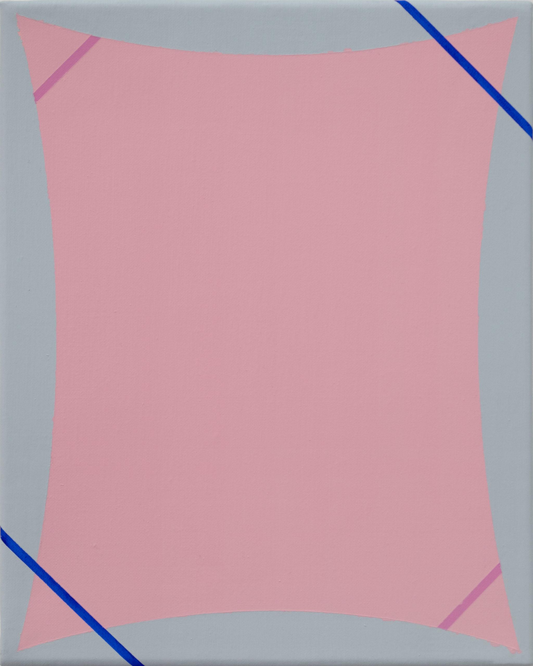 Untitled (Grey Pink Pink Blue)