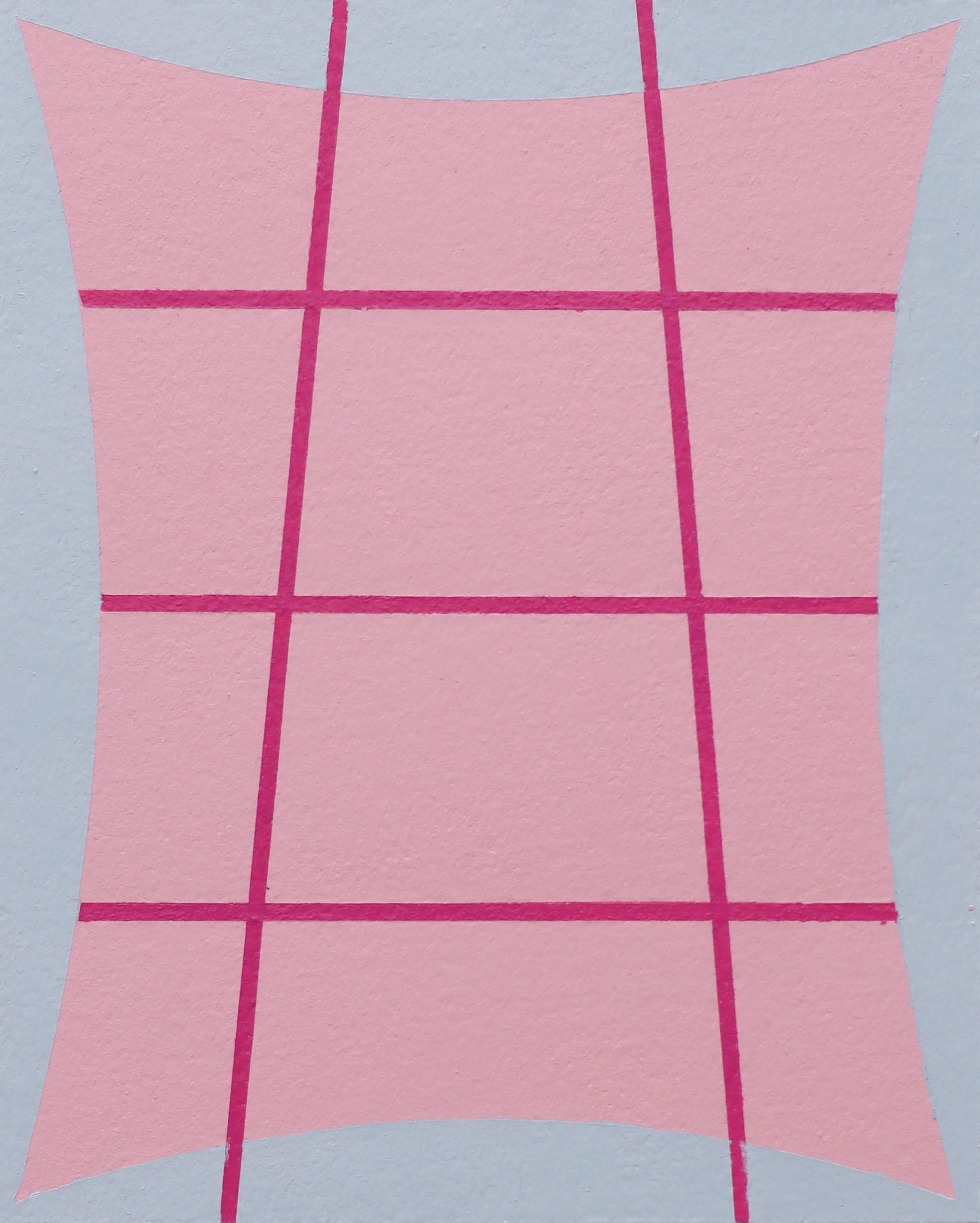 Untitled (Grey Pink Red)