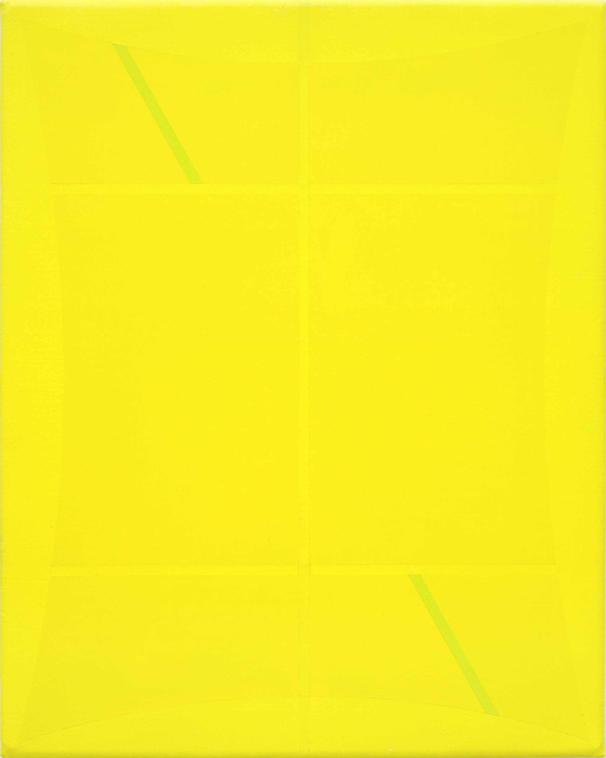 Untitled (Two Yellows and Green)