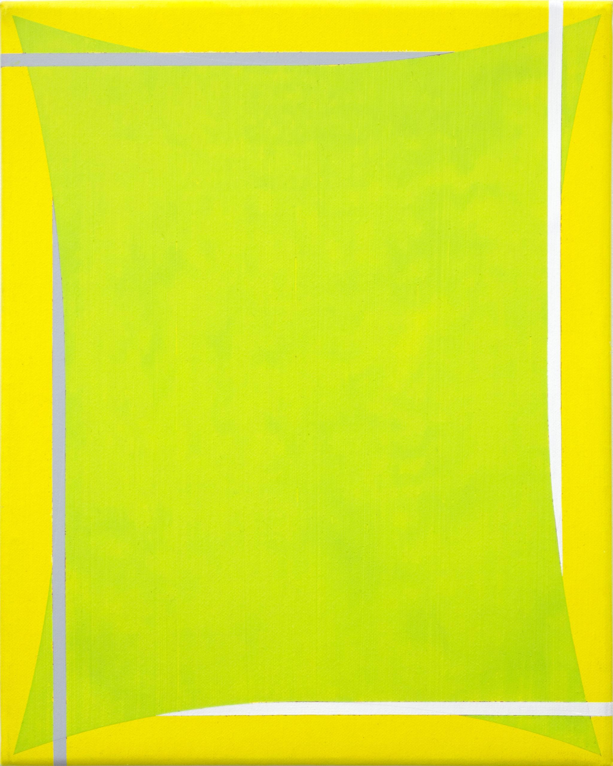Untitled (Yellow Green Grey White)